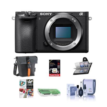 Sony Alpha a6500 Pro Digital Lens Hood 67mm + Nw Direct Microfiber Cleaning Cloth. Flower Design