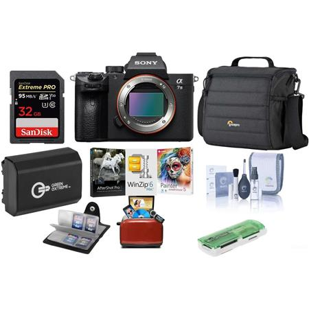 a9ba842f7afe37 Sony Alpha a7 III 24MP UHD 4K Mirorless Camera(Body) W/Free Mac ...