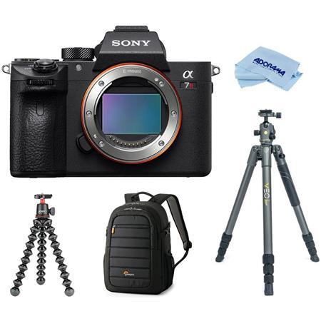 Sony a7R III Mirrorless Digital Camera Body With Tripod Bundle