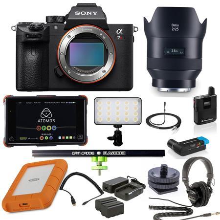 Sony a7R III Mirrorless Digital Camera Body - Vlogger Bundle