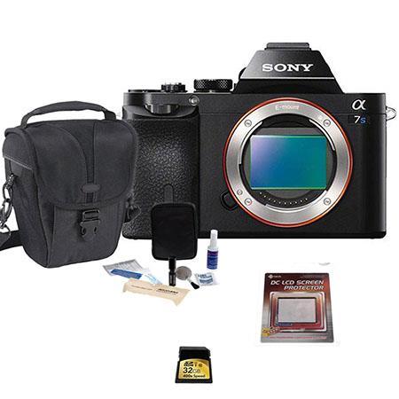 Sony Alpha a7S Mirrorless Digital Camera with Basic Bundle