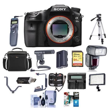 Sony A99 Ii >> Sony Alpha A99 Ii Dslr Body With Pro Accessory Bundle Ilca 99m2 C