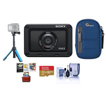 Sony Cyber-shot RX0 II Digital Camera With Free Mac Accessory Bundle
