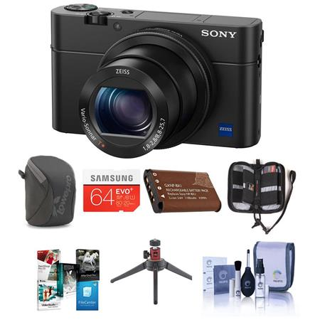 Sony Cyber-Shot DSC-RX100 IV Digital Camera and Premium Kit