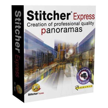 RealViz Stitcher Express Software for QTVR Panorama Stitching, for  Macintosh & Windows