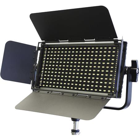 Intellytech Nitro EX Bi-Color 60W LED Panel Kit, Includes Barn-Doors,  Diffusers, Power Supply, V-Mount Adapter, Remote Control, Case