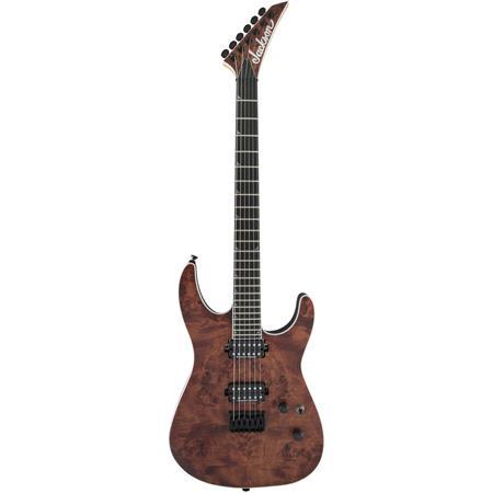 Jackson Pro Series Soloist SL2 Poplar Burl HT Mahogany 6-String Guitar