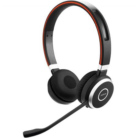 Jabra Evolve 65 Uc Stereo Bluetooth Headset With Link 370 Adapter Retail Sme 100 98500000 02