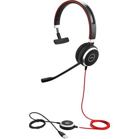 Jabra Evolve 40 Usb C Ms Mono Headset With Microphone 6393 823 189