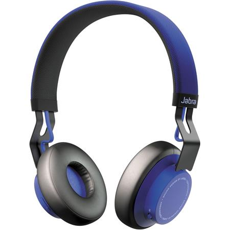 Jabra Move Wired Wireless Omni Directional Stereo Headphones With Mic Blue 100 96300001 02