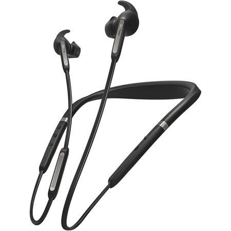 Jabra Elite 65e Wireless In Ear Headphones With Mic Titanium Black 100 99020000 02