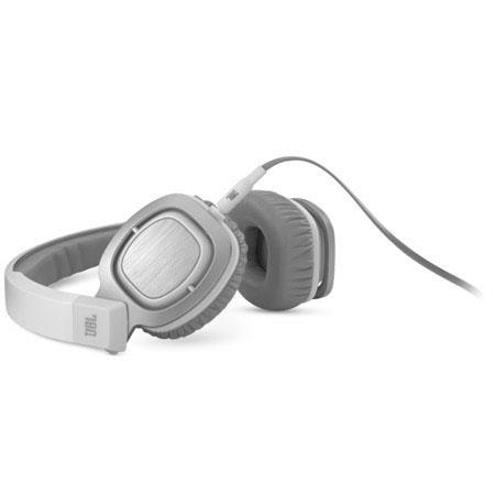 JBL J55WHT On-Ear Headphones-No Mic