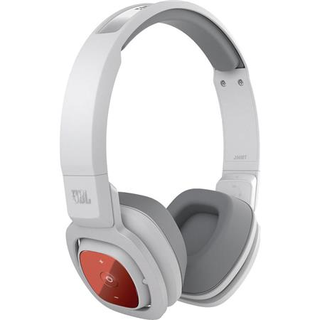 Used JBL J56BT Bluetooth 3 0 Wireless On-Ear Stereo Headphones, 20Hz-20kHz  Frequency, 115dB at 30mW Maximum SPL, Built-In USB Rechargeable Battery,