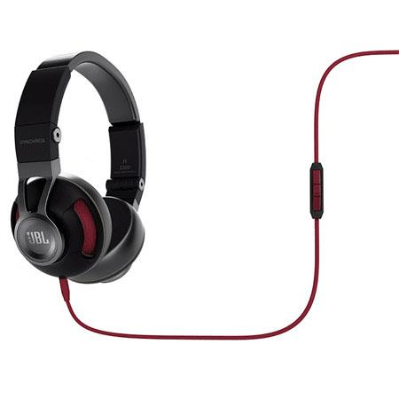 2d80460cd03 Used JBL Synchros S300A Premium On-Ear PureBass Headphones with Universal  3-Button Remote/Mic, 10Hz - 22kHz Frequency, 115dB at 30mW Sensitivity, ...