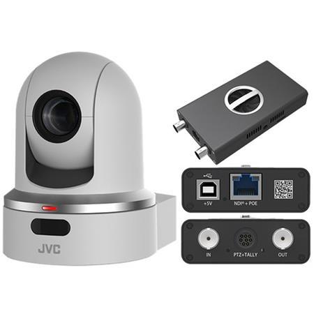 KY-PZ100WU PTZ camera with NDI converter, White
