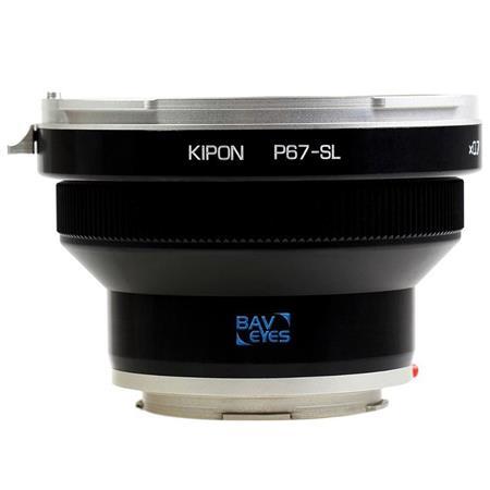 Kipon Baveyes Ultra 0 7x Adapter for Pentax 6x7 Mount Medium Format Lens to  Leica SL Camera