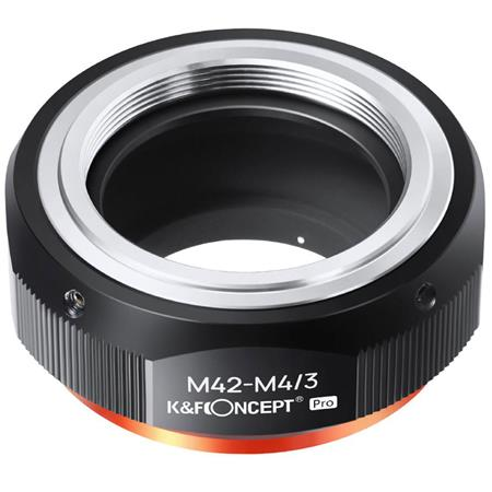 Pro M42 Screw to Micro 4//3rds Lens Adapter Ring M42 to Micro 4//3 Mount Adaptor.