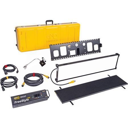 Kino Flo FreeStyle/GT 31 LED DMX Fixture Kit with Gaffer Tray & Travel  Case, 37 5x9 5x2 5