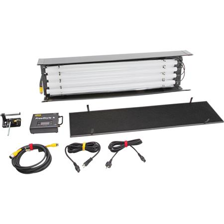 Kino Flo FreeStyle T44 LED 1-Light Kit (No Case), MTP-KG41 Mount with 3/8