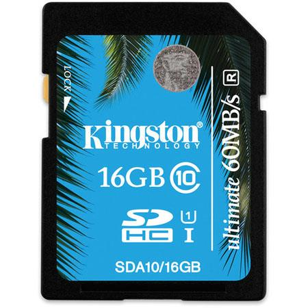 Kingston Technology 16GB Class 10 SDHC: Picture 1 regular