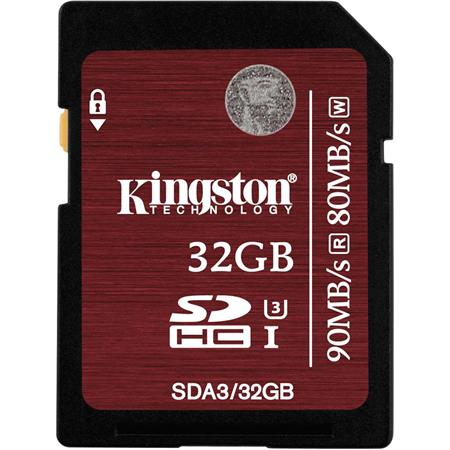 Kingston Technology 32GB SDHC Class 3: Picture 1 regular