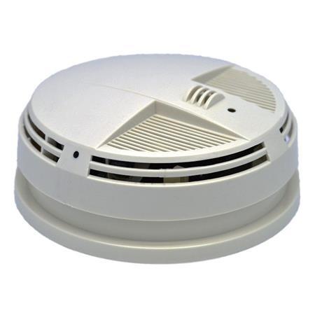 Kjb Security Products Zone Shield Sc97094k Smoke Detector 4k Indoor Camera Dvr Sc97094k