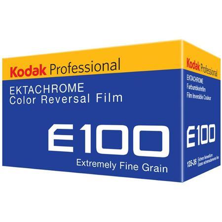 Kodak Ektachrome E100g Color Slide Film Iso 100 35mm Size 36 Exposure Transparency
