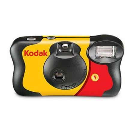 KODAK Fun Saver 35mm One-Time-Use Disposable Camera with Flash, 27 Exposures 8617763