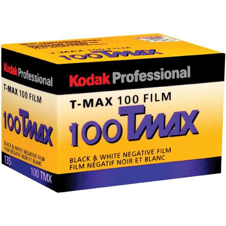 KODAK T-Max 100, 100TMX, Black & White Negative Film ISO 100, 35mm Size, 36  Exposure,