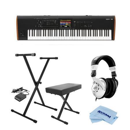 Korg Kronos 88 Key Music Workstation with SGX-2 Engine W/On-Stage  Keyboard/Headp