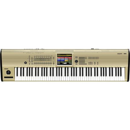 Korg Kronos 88 Music Workstation with SGX-2 Engine, Limited Edition, Gold