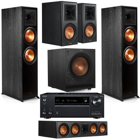 Klipsch 2x Reference Premiere RP-8000F Floorstanding Speaker Bundle