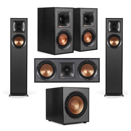 Klipsch R-610F Floorstanding Home Speaker Bundle