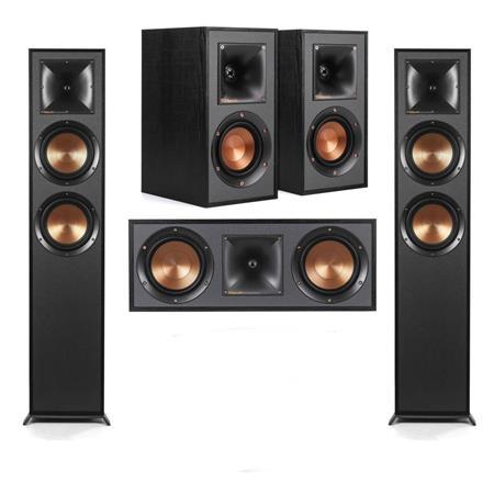 Klipsch R-625FA Dolby Atmos Floorstnding Speaker W/R-41M Speakers /R-52c  Speaker