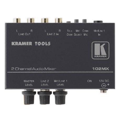 Kramer Electronics 102MX Mixers & Amplifier: Picture 1 regular