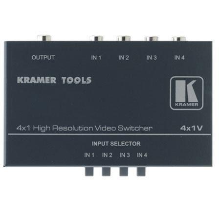 Kramer Electronics Kramer 4x1V Switcher: Picture 1 regular