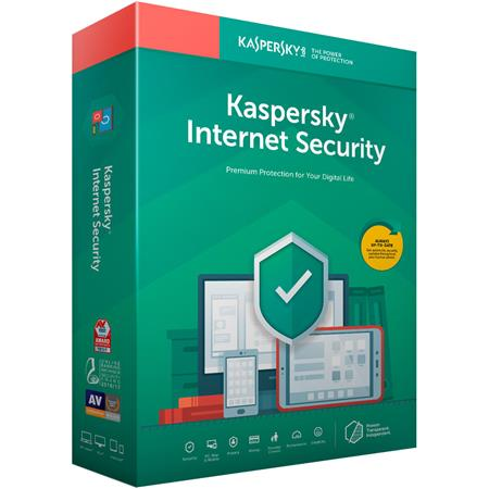 Kaspersky Internet Security 2019 Software, 1 Device, 1-Year License, Key  Card Code