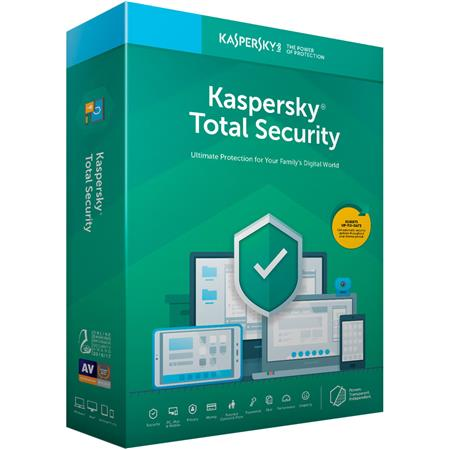 Kaspersky Total Security 2019 - 5 Devices / 1 Year (Key Card)