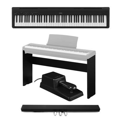 Kawai ES110 88-Key Digital Piano, Stylish Black With Accessory Bundle