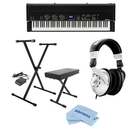 Kawai MP11SE 88-Key The Pianist's Pro Stage Piano W/On-Stage  Bench/Ber Headphone
