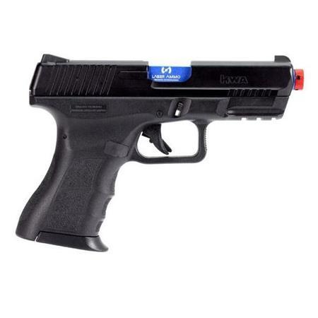 Laser Ammo Kwa Atp C Recoil Enabled Airsoft Training Pistol With Ir Laser Retp Atp C Ir