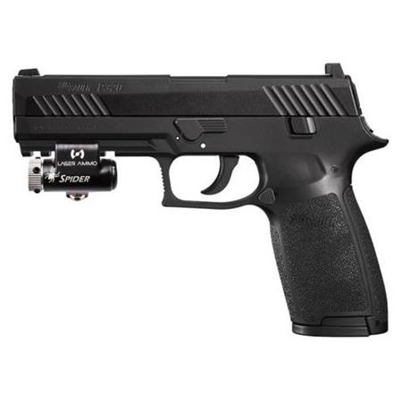 Laser Ammo Recoil Enabled Training Pistol Sig Sauer P320 With Red Visible Laser Retp Sigp320