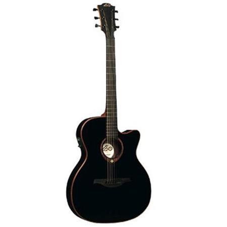 Lag Tramontane Auditorium Slim Cutaway Acoustic-Electric Guitar