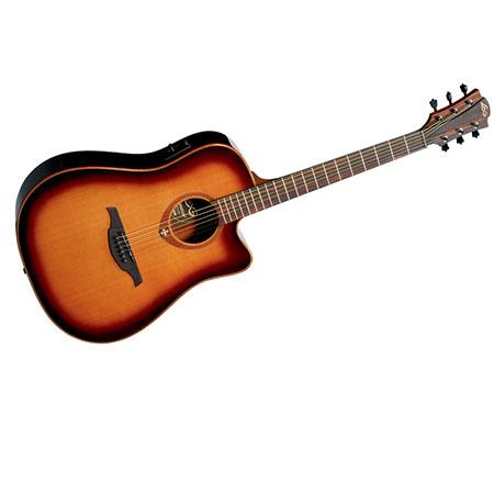 Lag Tramontane Dreadnought Cutaway Electro Acoustic-Electric Guitar