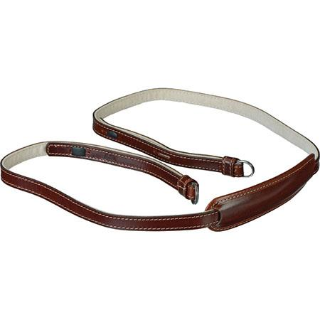 Brown Leica 18837 Vintage Leather Carrying Strap X