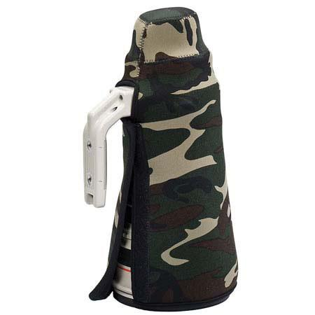 Canon 400mm f4 DO IS Neoprene lens protection camo coat cover Woodland Green