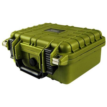 COMMON SENSE RC Premium Weather Resistant Micro Drone, Single Pistol,  General Equipment Case with DIY Foam, Army Green