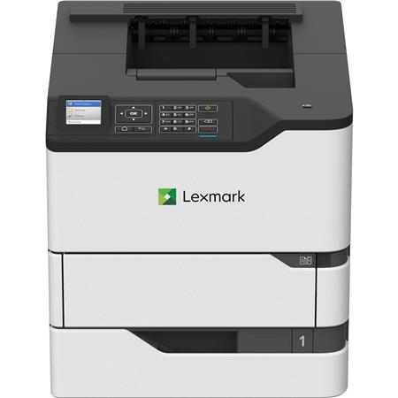 photo about Laser Printable Vinyl named Lexmark MS725dvn Monochrome Laser Printer, 55 ppm, Supports Vinyl Media, 650 Internet pages Common