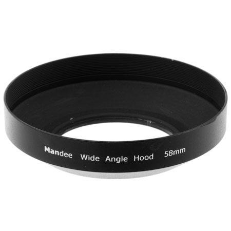 Adorama 58mm Wide Angle Metal Lens Hood