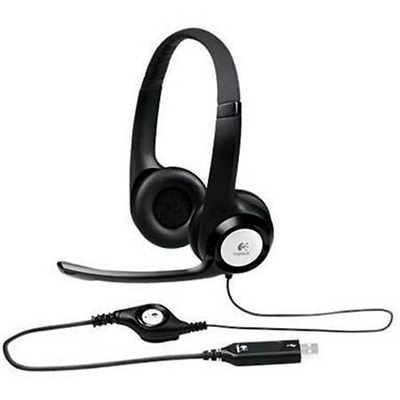 Logitech H390 Over-Ear USB Headphones